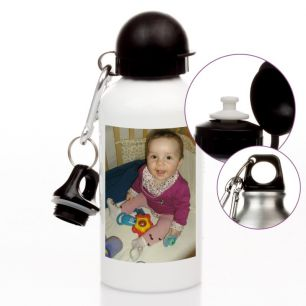 Trinkflasche mit Wunschfoto #0
