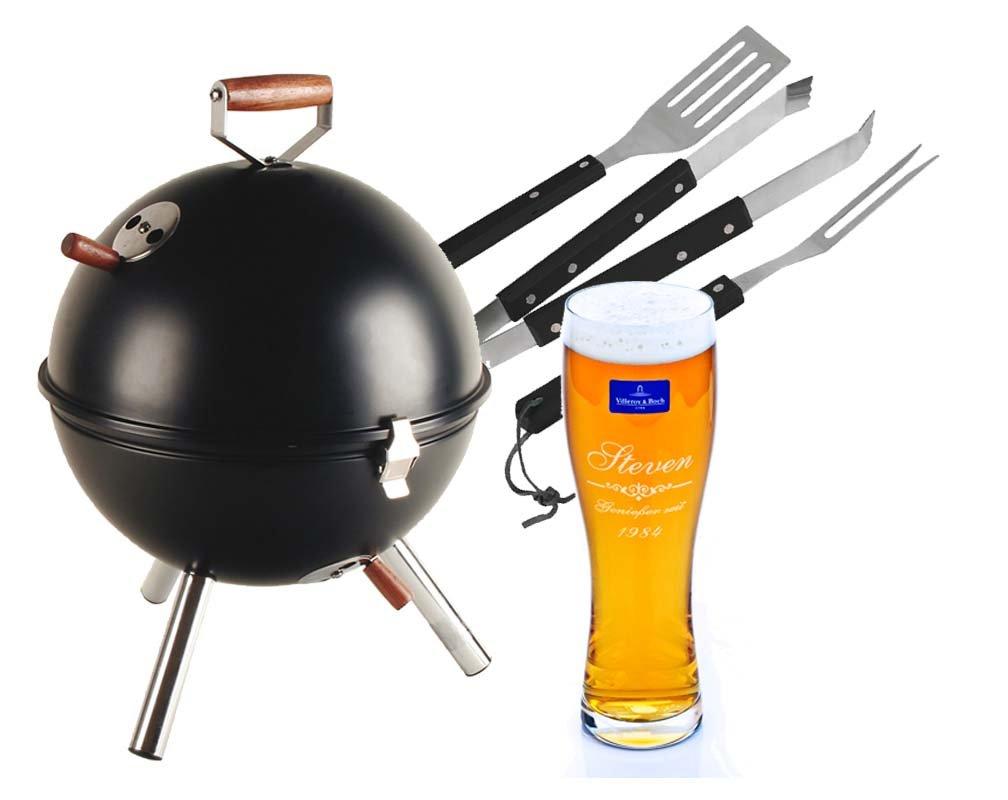 grillset bier mit gravur genie er geschenk f r m nner. Black Bedroom Furniture Sets. Home Design Ideas