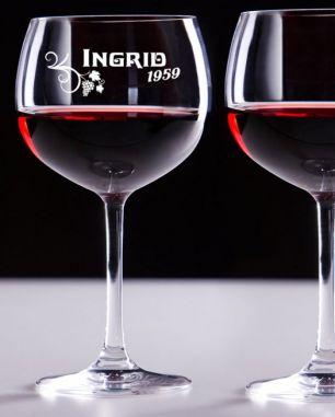 Weingläser mit Gravur #1