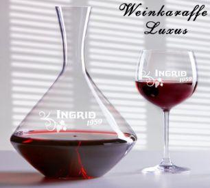 Weingläser mit Gravur #3