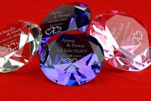 Diamant mit Gravur #2