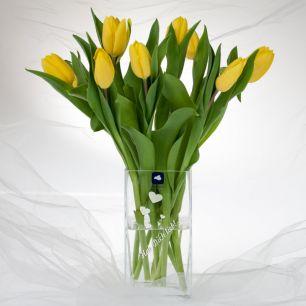 Blumenvase mit Wunschgravur #1
