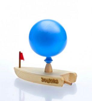 Luftballon-Boot mit Gravur #0