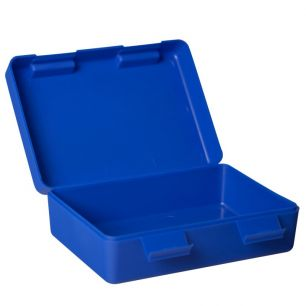 Brotdose blau mit Name #1